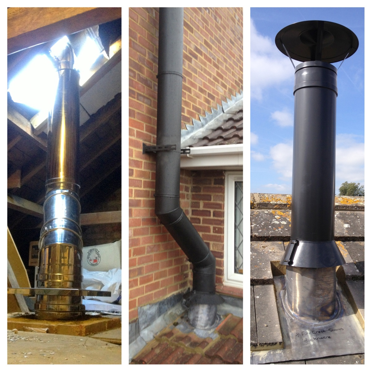 Fireplace Chimney Pipe Stove Chimney Installing Wood Stove